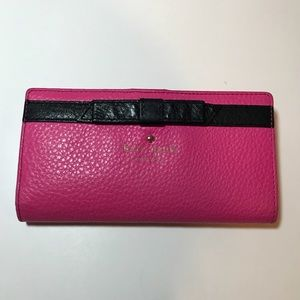 Kate Spade Long Wallet with bow
